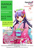 Manga Café in der Kunstschule!