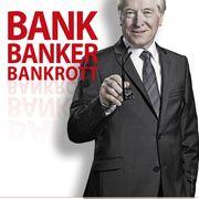 VERSCHOBEN Bank Banker Bankrott